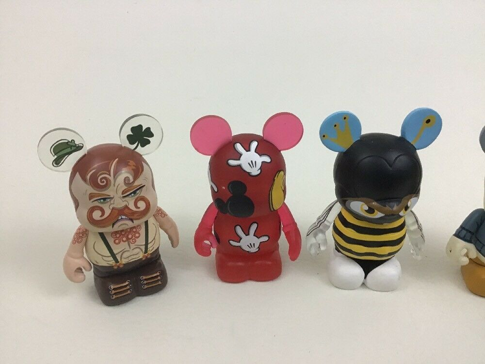 Disney Mickey Mouse Vinylmation Toy Figures Topper Extreme Wrestlers Donald Duck