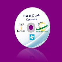 DXF to G-code Converter Software Convert 2D DXF Drawings to CNC Machine ... - $12.14