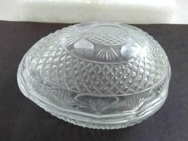 Vintage AVON Crystal Egg Shaped Trinket Box - $8.73