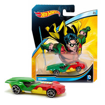 HOT WHEELS DC ROBIN NEW IN PACKAGE - $8.88