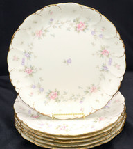 Mikasa Remembrance * 6 DINNER PLATES * Small Flowers, Excellent! - $217.79