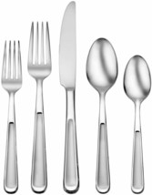 Oneida Jasper 20 Piece Stainless Steel Flatware Set. NEW - $34.99