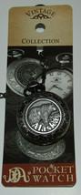 Alaska Bear Pocket Watch New Vintage Collection Quartz Movement Needs Ba... - $27.15