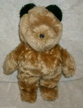 "13"" VINTAGE 1981 EDEN BROWN TAN PADDINGTON TEDDY BEAR STUFFED ANIMAL PLU... - $23.38"