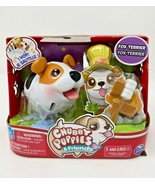RARE Chubby Puppies & Friends Fox Terrier Hard Plastic Spin Master Toy - $48.26