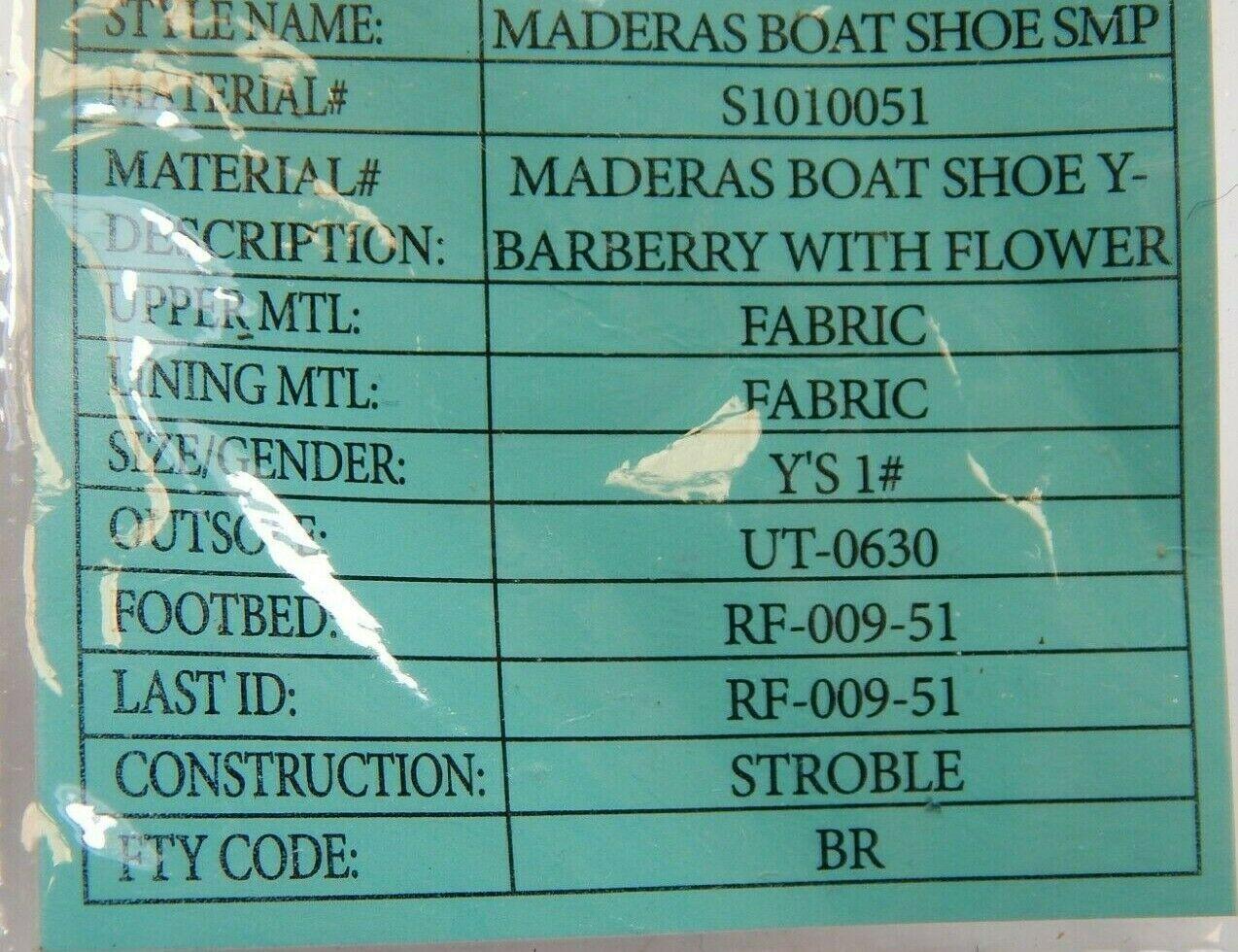 Keen Maderas Boot Größe US 1 M (Y) Eu 32/33 Jugend Kinder Turnschuhe S1010051