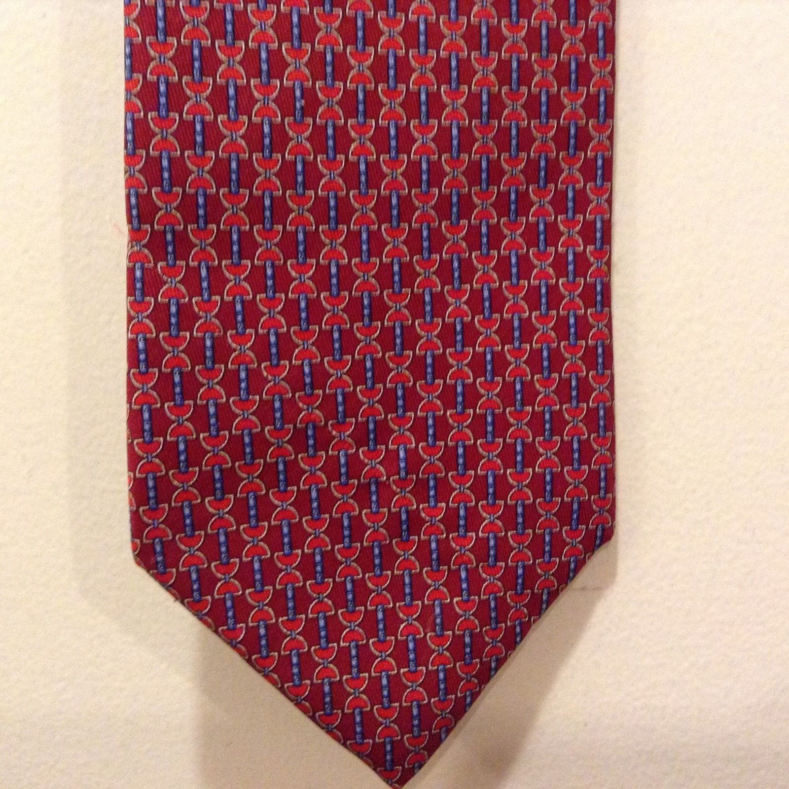 Brooks Brothers Red and Blue Silk Tie
