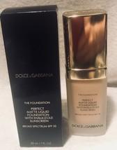 Dolce & Gabbana The foundation Perfect Matte Liquid Foundation SPF20 BIS... - $52.35