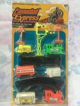 VTG Gordy International 1976  Plastic Train Set Cannonball Express - $9.46