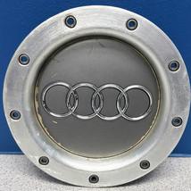 ONE 2006 Audi A8 # 58783 20x9 Aluminum Wheel Center Cap OEM # 8D0601165K USED - $25.00