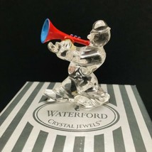 Waterford The Clown with Trumpet Crystal Jewels Merry Music Collection -... - $27.23