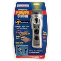 Ready America 70801 Emergency Power Station, 4 Function - $17.99