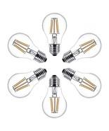 GOKU Vintage LED Filament Bulb Dimmable 6W 60W Equivalent, A19 LED Ediso... - $24.21