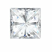 0.41CT Princess Square Cut C & C Forever One Moissanite D-E-F Loose Ston... - $197.99