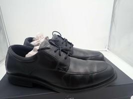 Rockport Men's Essential Details Waterproof AprOnToe Oxford shoe 11.5 W Damaged - $8.55