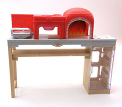 Mattel 2017 Barbie Brick Oven Pizzeria PIZZA CHEF Kitchen FTK33 missing pieces - $9.90