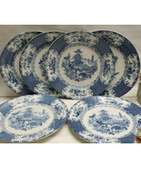 "Set of SIX (6) ALLERTON'S China - CHINESE Pattern - 9"" Luncheon PLATES - $79.95"