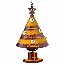 Washington Redskins Team Bell Ornament Sports Collector Series Offially ... - $12.82