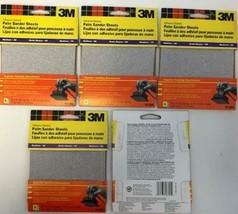 "3M 4-1/2"" x 4-1/2 Palm Sander Sheets 9210NA 5-5 PKS - $7.43"