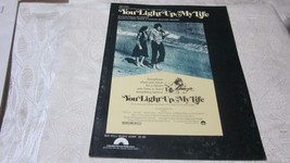 1977 YOU LIGHT UP MY LIFE SHEET MUSIC RECORDED BY DEBBIE BOON JOSEPH BRO... - $1.99