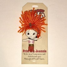 PRINCESS JEANNIE Watchover Voodoo Doll Keychain Keyring Charm John Hinde... - $21.42