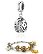 Endless Jennifer Lopez Charm Leopard Cut Drop Silver 3351 FOR ENDLESS SILVER CHA image 1