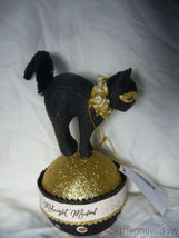 Bethany Lowe Creatures of the Night Container Black Cat  image 3