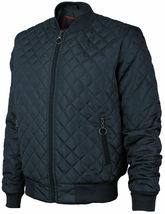 Men's Lightweight Ring Zipper Quilted Water Resistant Slim Bomber Jacket JASON image 6