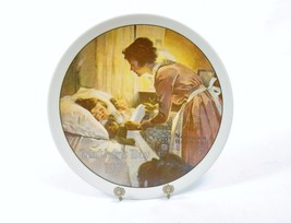 """A Mother's Love"" Norman Rockwell Plate, 1976 Mother's Day Annual Plate ... - $14.65"