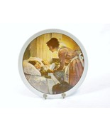 """""""A Mother's Love"""" Norman Rockwell Plate, 1976 Mother's Day Annual Plate ... - $14.65"""