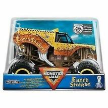 Monster Jam Monster Truck 1:24 Scale Die-Cast Vehicle - Earth Shaker - $16.82