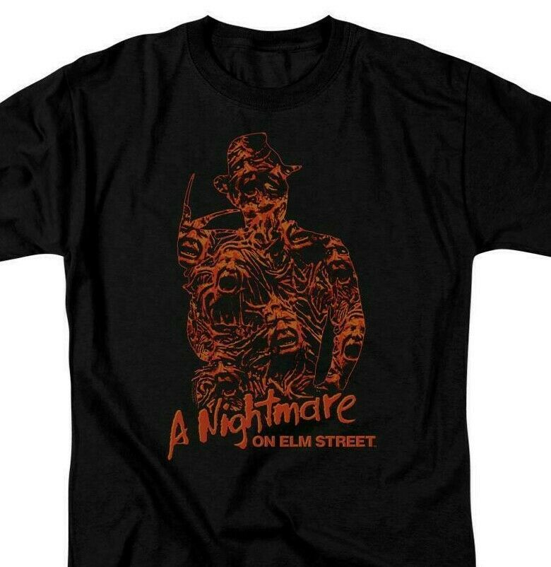 Nightmare On Elm Street Tshirt Lost Souls Freddy Krueger 80s Horror movie WBM693