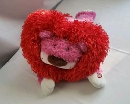 Hallmark Plush Motion Lion Purrcy The Huggable Lion Shakes Purrs Valenti... - $12.65