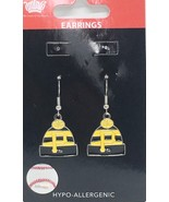 PITTSBURGH PIRATES EARRINGS KNIT BEANIE HAT CAP W/TEAM LOGO Official Lic... - $7.79