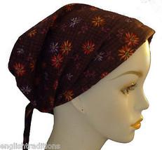 Wildflower Scarf Cancer Hat Turban Chemo Hair Head Wrap Bad Hair Day Alo... - $16.95