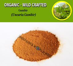 POWDER Gambir Pale Catechu Uncaria Gambir Organic WildCrafted Fresh Natu... - $7.99+