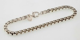"""Tiffany & Co.Sterling Silber Venezianische Link Armband 7.25 """" Lang - $148.49"""