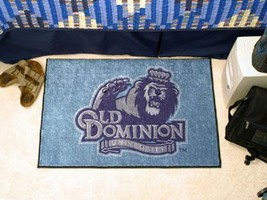 NCAA -  Old Dominion Starter Rug 19 inch x30 inch   - $34.99