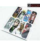 8PCS KPOP BIGBANG Bookmarks G-DRAGON Memo Note Label TAEYANG DAESUNG SEU... - $2.99