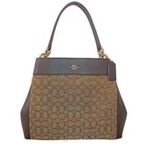 Coach Lexy Shoulder Bag in Outline Signature - $270.90