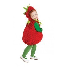 Underwraps Strawberry Belly Babies Infant Toddler Halloween Costume 25973 - $22.79
