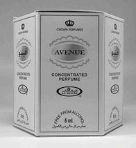 Box of 6 Avenue 6ml Al Rehab,Floral Musk Wood Patchouli Perfume Oil / Attar. - $32.99
