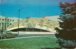 Chrome Postcard NV C151 1969 Pioneer Theater Reno Googie Architecture Cr... - $6.00