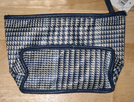Navy/White  Plaid Makeup Bag from Macy's ~ New - $2.70