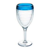 Tervis 9 oz. Wine Glass in Blue - $19.99