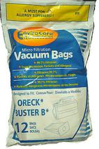 Oreck Buster B Hand Held Vacuum Cleaner Bags 12 pk - $10.35