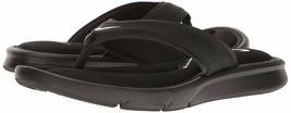 Women's Nike Ultra Comfort Thong Sandals, 882697 001 Mult Sizes Black/Wh... - $34.95