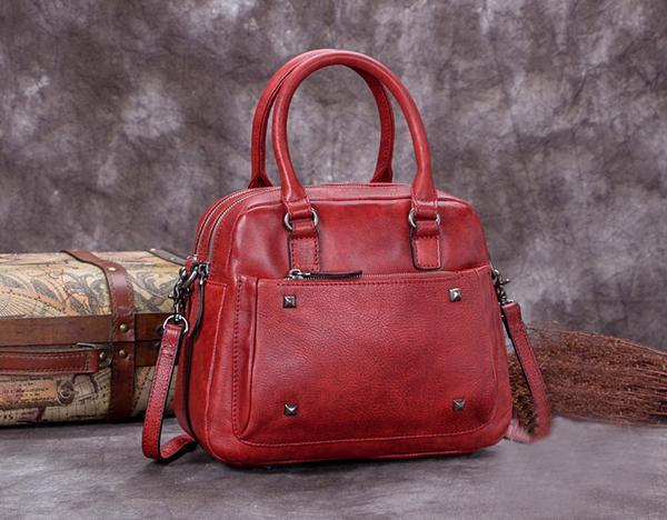 Sale, Genuine Leather Messenger Bag, Shoulder Bag, Satchel Bag image 3