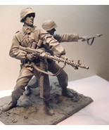 Waffen SS 1941East Front soldiers with base figure Historical WWII Figur... - $78.00