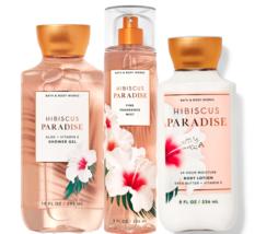 Bath & Body Works Hibiscus Paradise Trio Gift Set - $45.95